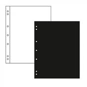 Intercalaires NUMIS, noir, paquet de 10