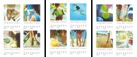 Frankrig - Ferie 2019 - Postfrisk frimærkehæfte
