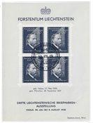 Liechtenstein 1938 - Michel  BL-3 - Oblitéré