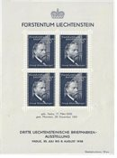 Liechtenstein 1938 - Michel  BL-3 - Neuf avec charnière