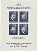 Liechtenstein 1938 - Michel  BL-3 - Neuf