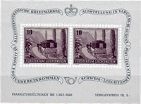 Liechtenstein 1946 - Michel  BL-4 - Ubrugt