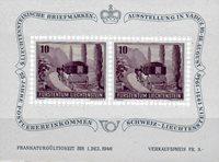 Liechtenstein 1946 - Michel  BL-4 - Postfrisk