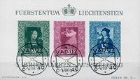 Liechtenstein 1949 - Michel  BL-5 - Stemplet