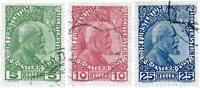 Liechtenstein 1912 - MICHEL 1/3 - Stemplet