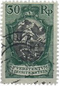 Liechtenstein 1921 - Michel  55 - Oblitéré