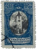 Liechtenstein 1921 - Michel  57 - Oblitéré