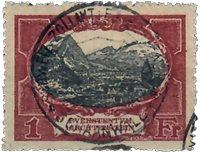 Liechtenstein 1921 - Michel  60 - Oblitéré