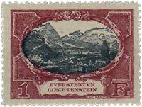 Liechtenstein 1921 - Michel  60 - Neuf