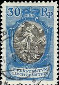 Liechtenstein 1925 - Michel  64 - Stemplet