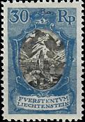 Liechtenstein 1925 - Michel  64 - Ubrugt