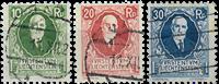 Liechtenstein 1925 - Michel  72-74 - Stemplet