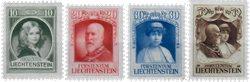 Liechtenstein 1929 - Michel  90-93 - Neuf