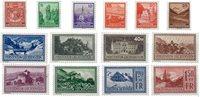 Liechtenstein 1934 - Michel  126-139 - Neuf avec charnière
