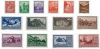 Liechtenstein 1934 - Michel  126-139 - Neuf