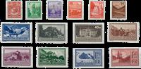 Liechtenstein 1934 - Michel  126-139 - Postfrisk