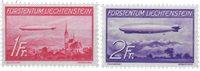 Liechtenstein 1936 - Michel  149-150 - Neuf avec charnière