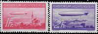 Liechtenstein 1936 - Michel  149-150 - Ubrugt