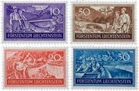 Liechtenstein 1937 - MICHEL  152-155 - Postfrisk