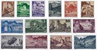 Liechtenstein 1937 - Michel  156-169 - Neuf avec charnière