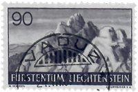 Liechtenstein 1937 - Michel  166 - Oblitéré