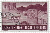 Liechtenstein 1937 - Michel  167 - Oblitéré