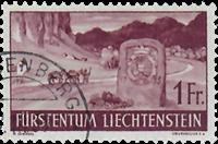 Liechtenstein 1937 - Michel  167 - Stemplet