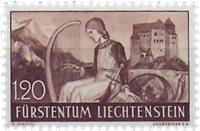 Liechtenstein 1937 - Michel  168 - Neuf