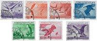 Liechtenstein 1939 - Michel  173-179 - Stemplet