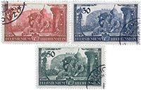 Liechtenstein 1939 - Michel  180-182 - Oblitéré