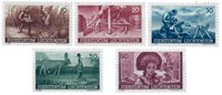 Liechtenstein 1941 - Michel  192-196 - Postfrisk