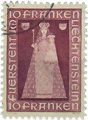 Liechtenstein 1941 - Michel  197 - Stemplet