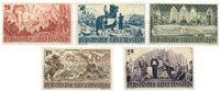 Liechtenstein 1942 - Michel  202-206 - Postfrisk