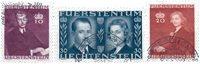 Liechtenstein 1943 - Michel  211-213 - Stemplet