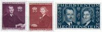 Liechtenstein 1943 - Michel  211-213 - Postfrisk