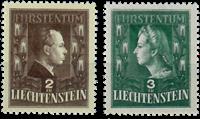 Liechtenstein 1944 - Michel  238-239 - Postfrisk