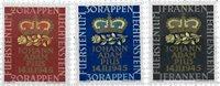 Liechtenstein 1945 - Michel  240-242 - Postfrisk