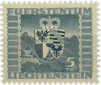 Liechtenstein 1945 - Michel  243 - Ubrugt
