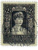 Liechtenstein 1947 - Michel  256 - Stemplet