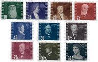 Liechtenstein 1948 - Michel  257-266 - Stemplet