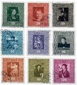 Liechtenstein 1949 - Michel  268-276 - Stemplet