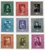 Liechtenstein 1949 - Michel  268-276 - Ubrugt
