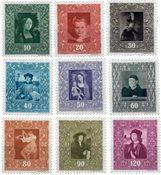 Liechtenstein 1949 - Michel  268-276 - Postfrisk