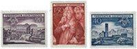 Liechtenstein 1949 - Michel  281-283 - Neuf