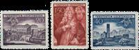 Liechtenstein 1949 - Michel  281-283 - Postfrisk