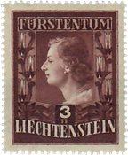 Liechtenstein 1951 - Michel  305B - Postfrisk