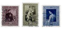 Liechtenstein 1952 - Michel  306-308 - Stemplet