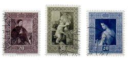 Liechtenstein 1952 - Michel  306-308 - Oblitéré