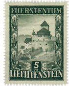 Liechtenstein 1952 - Michel  309 - Ubrugt