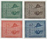 Liechtenstein 1953 - Michel  315-318 - Ubrugt